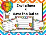Open House Invitations (Blank)