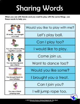 Sharing with Friends - Should I Share My Ice Cream? – PreK-2 No Prep Lesson & Ac