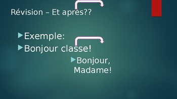 Inviting someone in French/Going places (C'est a Toi and T'es Branche)