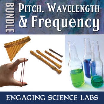Investigating Pitch, Frequency, & Wavelength—Sound & Waves Study—Writing Prompts