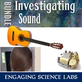 Investigating Sound Vibrations Activities w/ writing promp