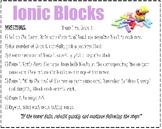 Ionic Blocks Activity