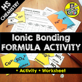 Ionic Bonding Activity and worksheet - learn to write ioni