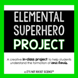 Ionic Bonding Elemental Superhero Project