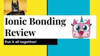 Ionic Bonding Interactive Review Slides Activity
