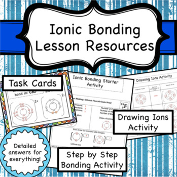 Ionic Bonding Lesson