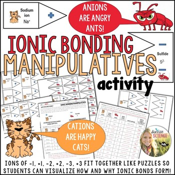Ionic Bonding Manipulatives Activity