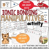 Ionic Bonding Manipulatives Activity