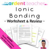 Ionic Bonding & Review Worksheet