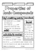 Ionic Bonding and Substances Middle School Chemistry Doodle Notes, Science