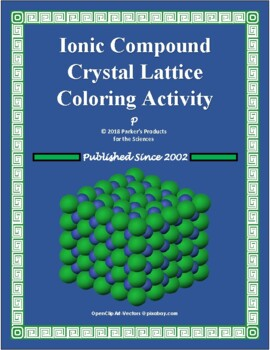 Ionic Compound Crystal Lattice Coloring and Analysis