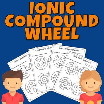 Ionic Compound Wheel