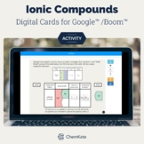 Ionic Compounds Puzzle Pieces for Google/Boom | Chemistry
