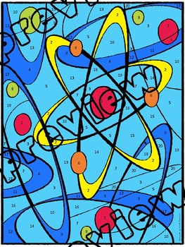 Ionic & Covalent Bonds Color-by-Number