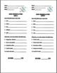 Ionic Nomenclature Quiz - 4 EDITABLE VERSIONS