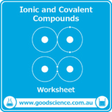 Ionic and Covalent Compounds [Worksheet]
