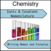 Ionic and Covalent Nomenclature Practice - Writing Chemica