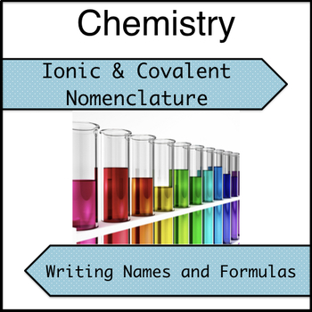 Ionic and Covalent Nomenclature Practice