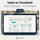 Identify Ionic or Covalent Color-In Tangram - Print &Digit