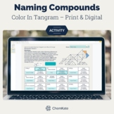 Ionic and Covalent Naming Color-In Activities - Print and