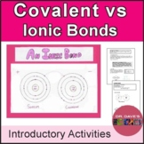 Ionic vs Covalent Bonds