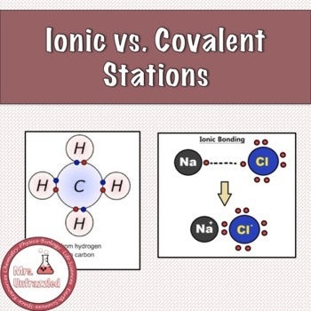 Ionic vs. Covalent Compounds Stations