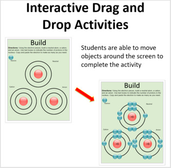 Ions - Digital Interactive Notebook Pages