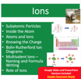 Ions Introduction Lesson - Google Slides and PowerPoint Lesson