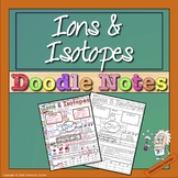Ions and Isotopes Doodle Notes