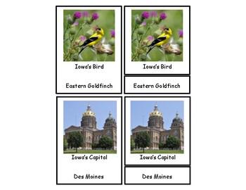 Iowa 3 Part Cards