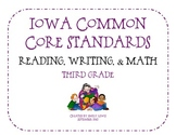 Iowa Common Core Flip Book - Third Grade
