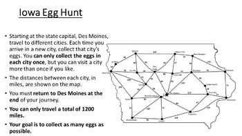 Iowa Easter Math Activity