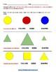 Grade 1  - Iowa  - Geometric Shapes - Common Core