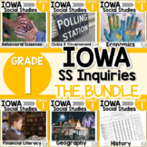 Iowa Grade 1 Social Studies Inquiries BUNDLE