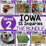 Iowa Grade 2 Social Studies Inquiries BUNDLE