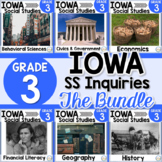 Iowa Grade 3 Social Studies Inquiries BUNDLE