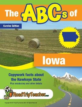 Iowa Handwriting Printables - Cursive Edition