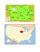 Iowa Map Scavenger Hunt