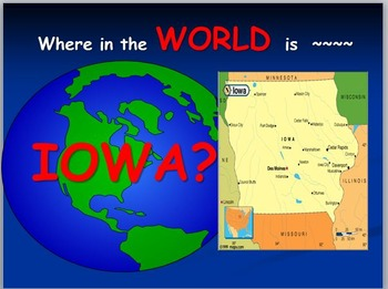 Iowa Map: Where is Iowa ?