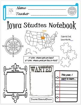 Iowa Notebook Cover