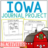 IOWA History Project with Lesson Plans, State Research Journal