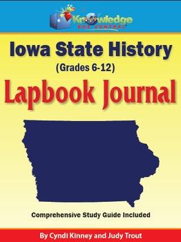 Iowa State History Lapbook Journal