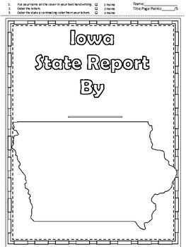 Iowa State Report