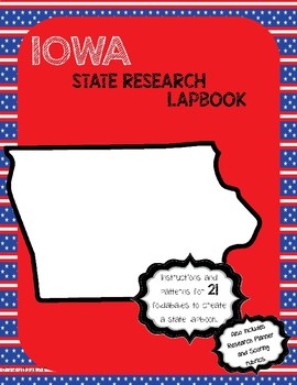 Iowa State Research Lapbook Interactive Project