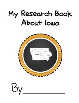 Iowa State Student Research Book