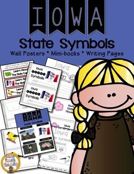 Iowa State Symbols Notebook