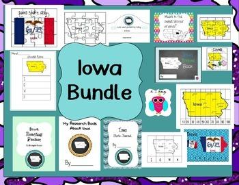 Iowa Themed Bundle- 14 resources