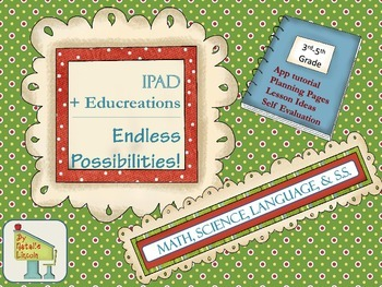 Ipad Educreations Tutorial and Lessons