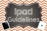 Ipad Guidelines for Classroom Use