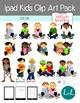 Ipad Kid Clip Art Pack